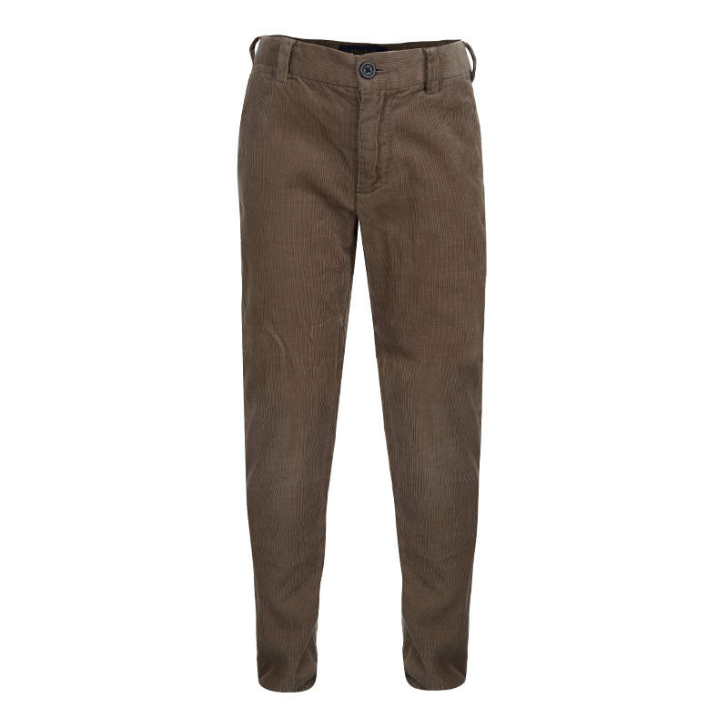 Polo By Ralph Lauren Brown Corduroy Trousers 6 Yrs