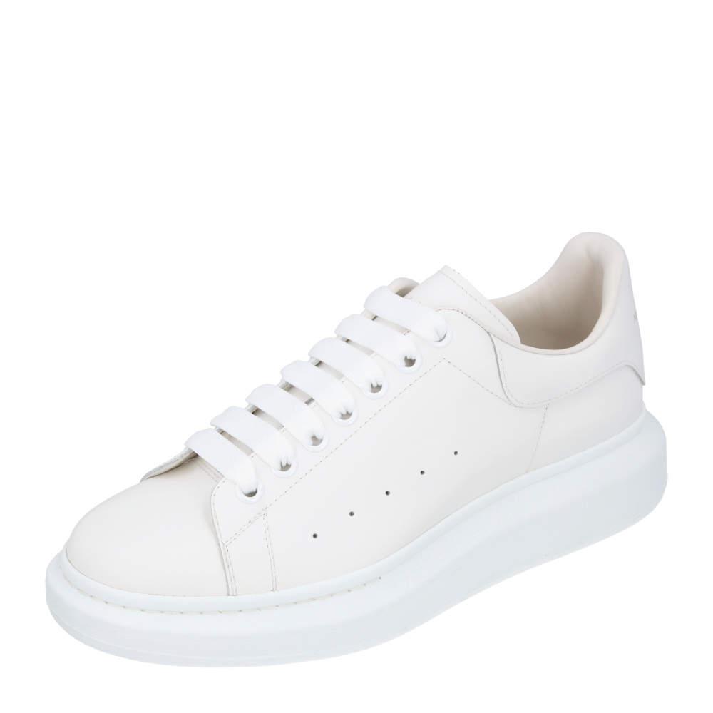 Alexander McQueen White Oversized Runner Sneakers Size EU 40
