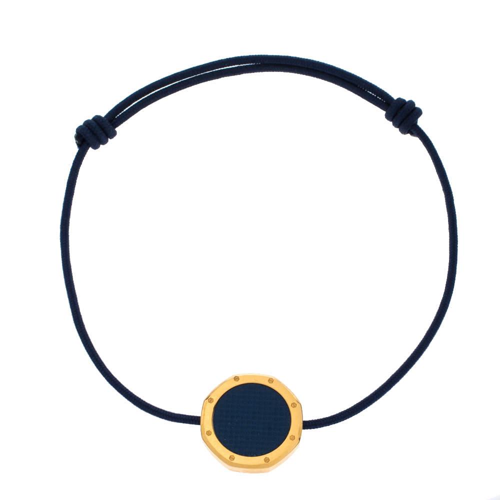 Audemars Piguet Royal Oak Motif Navy Blue Adjustable Cord Bracelet