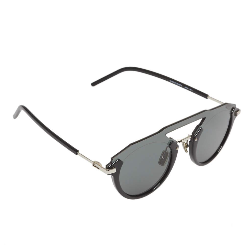 نظارة شمسية ديور هوم أفياتور ديورفوتوريستيك رمادي داكن/ أسود