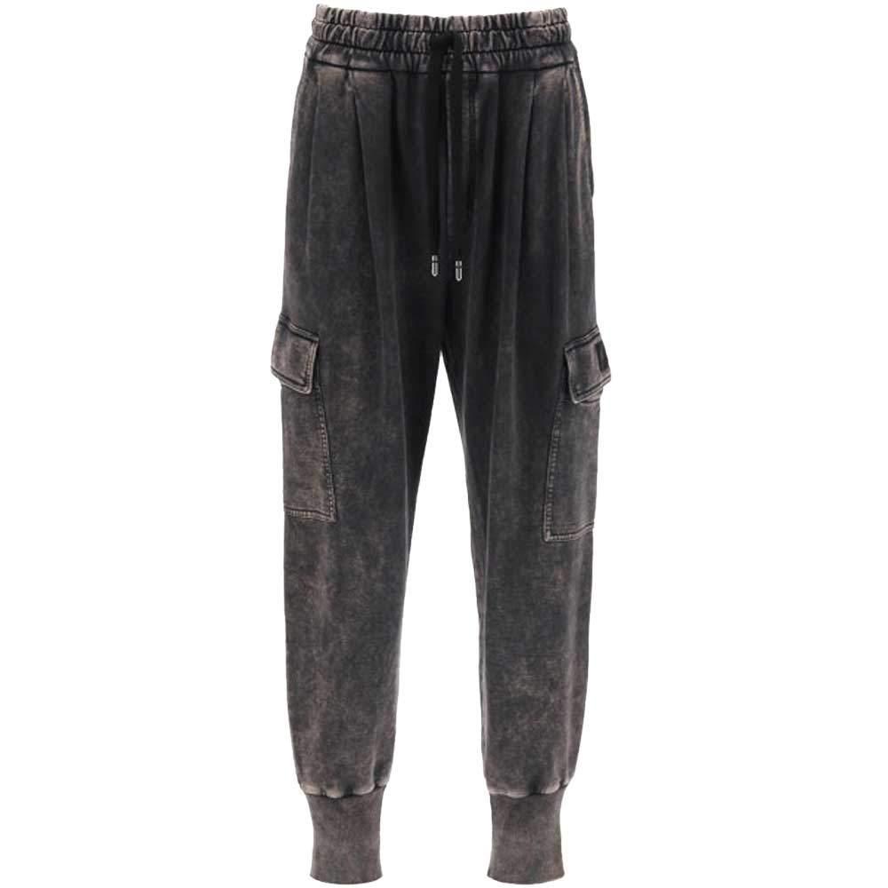 Dolce & Gabbana Grey Delave Jogger Pants Size EU 52