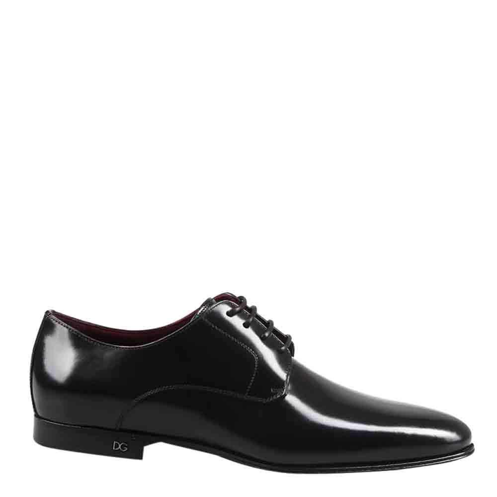 Dolce & Gabbana Black Leather Derby Size EU 40.5