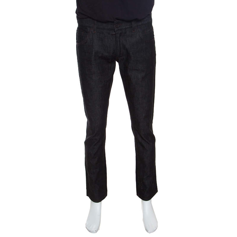 Dolce & Gabbana 14 Gold Black Straight Fit jeans M