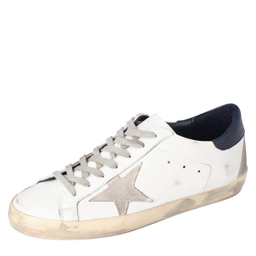 Golden Goose White Superstar low-top sneakers Size EU 41