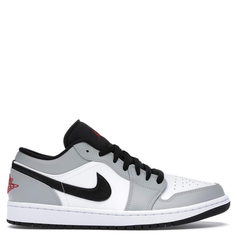 Ingresos Illinois Andrew Halliday  Nike Jordan 1 Low Light Smoke Grey Sneakers (US Size 7 / EU Size 40) Jordan  | TLC