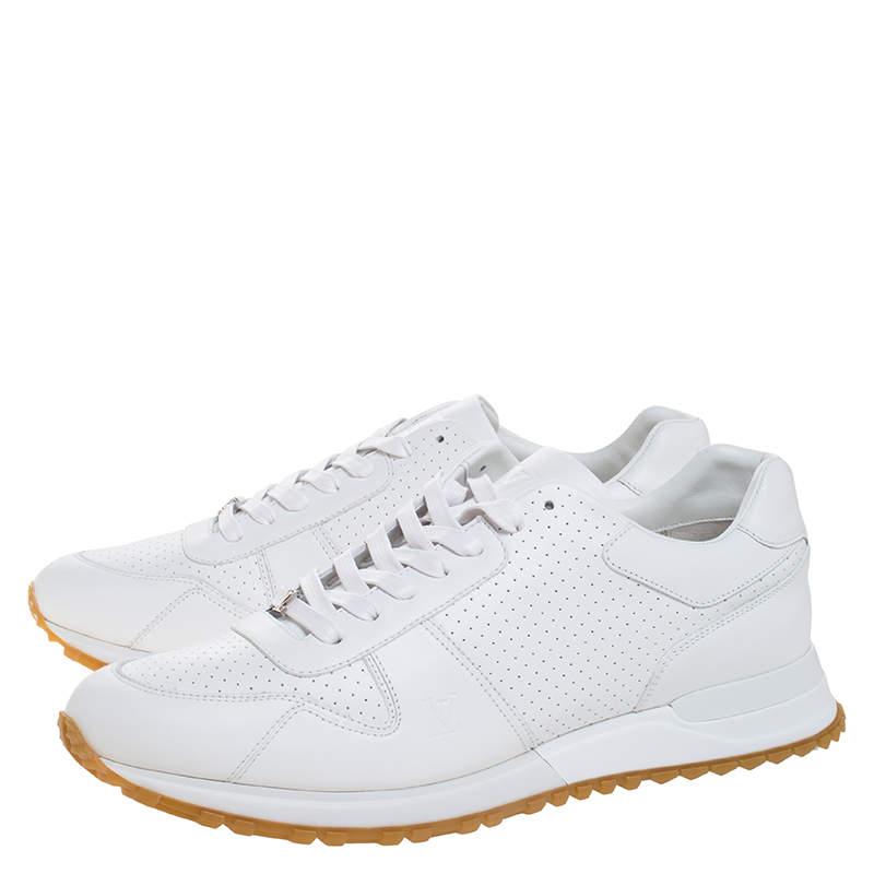 Louis Vuitton x Supreme White Leather