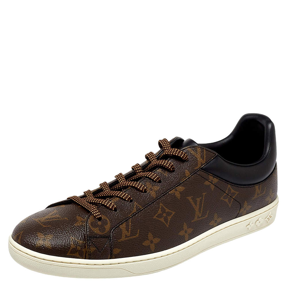 Louis Vuitton Monogram Canvas Luxembourg Low Top Sneakers Size 44