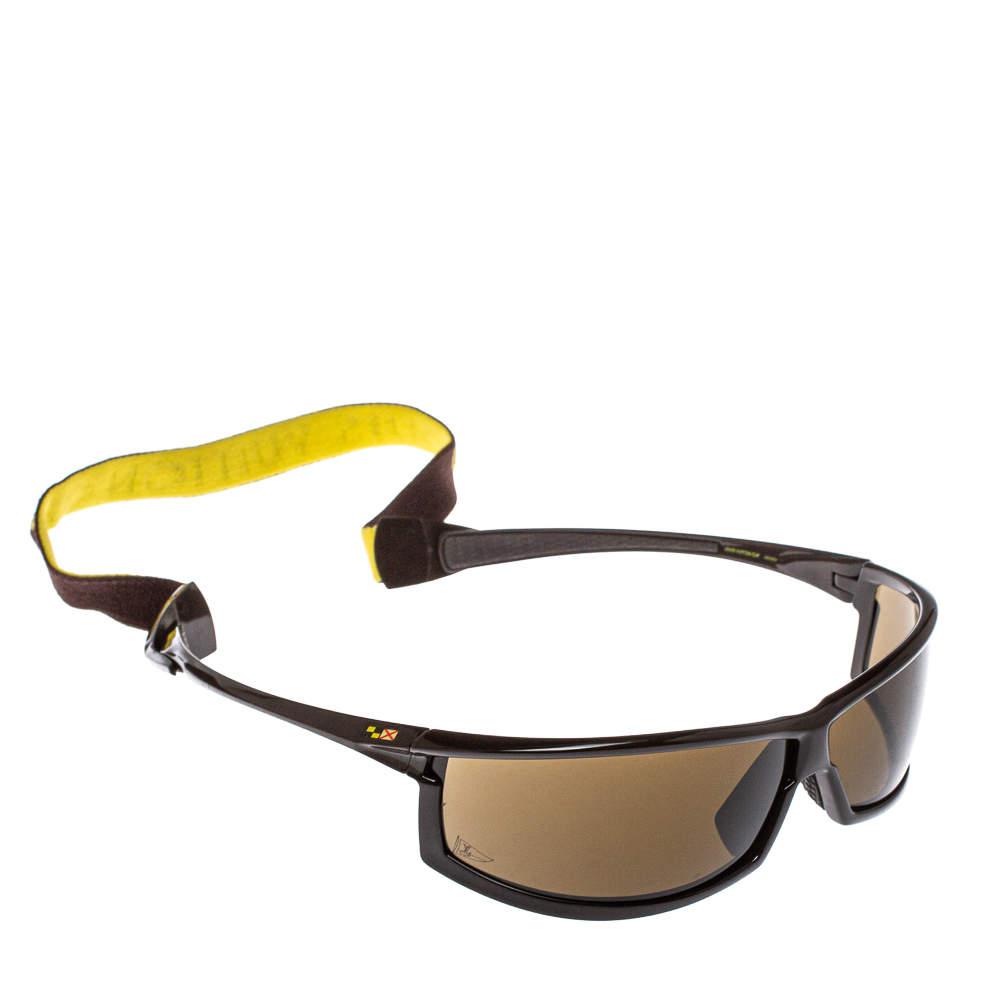 نظارة شمسية شيلد سبورت لوي فيتون LV كاب M80659  بني