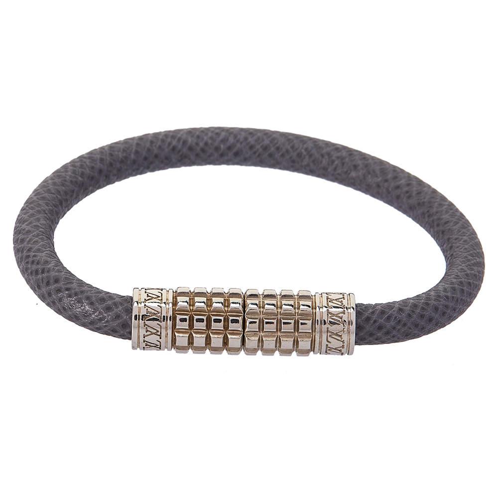 Louis Vuitton Glacier Taiga Leather Digit Bracelet