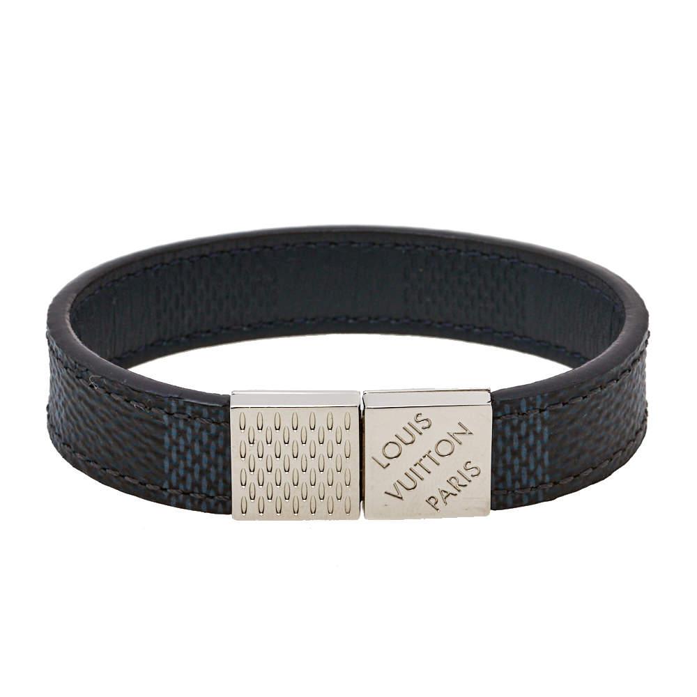 Louis Vuitton Damier Infini Leather Pull It Reversible Bracelet