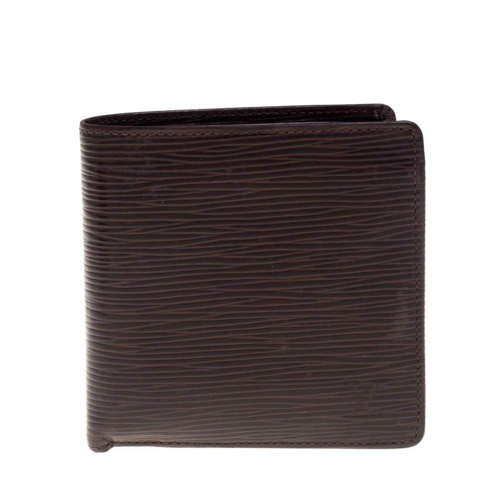 Louis Vuitton Moka Epi Leather Wallet