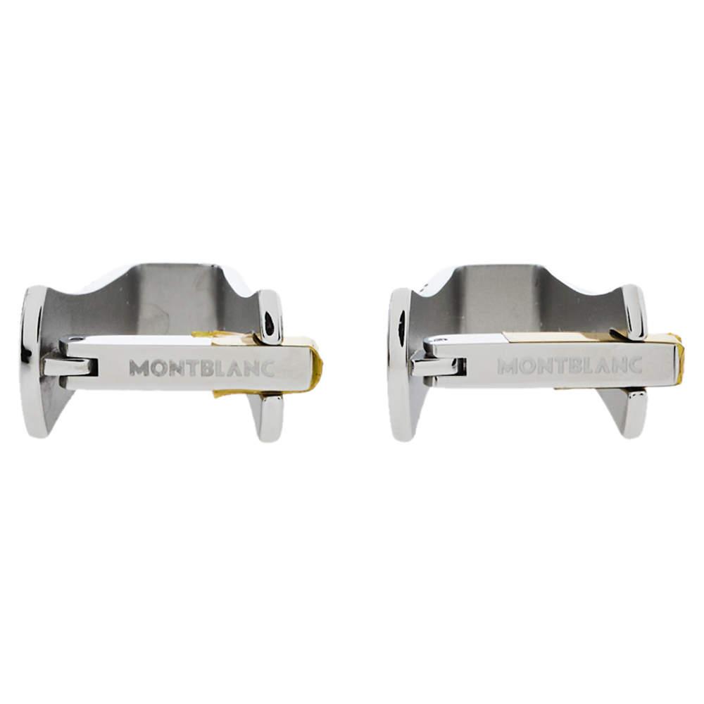 Montblanc Stainless Steel Sartorial Stirrup Cufflinks
