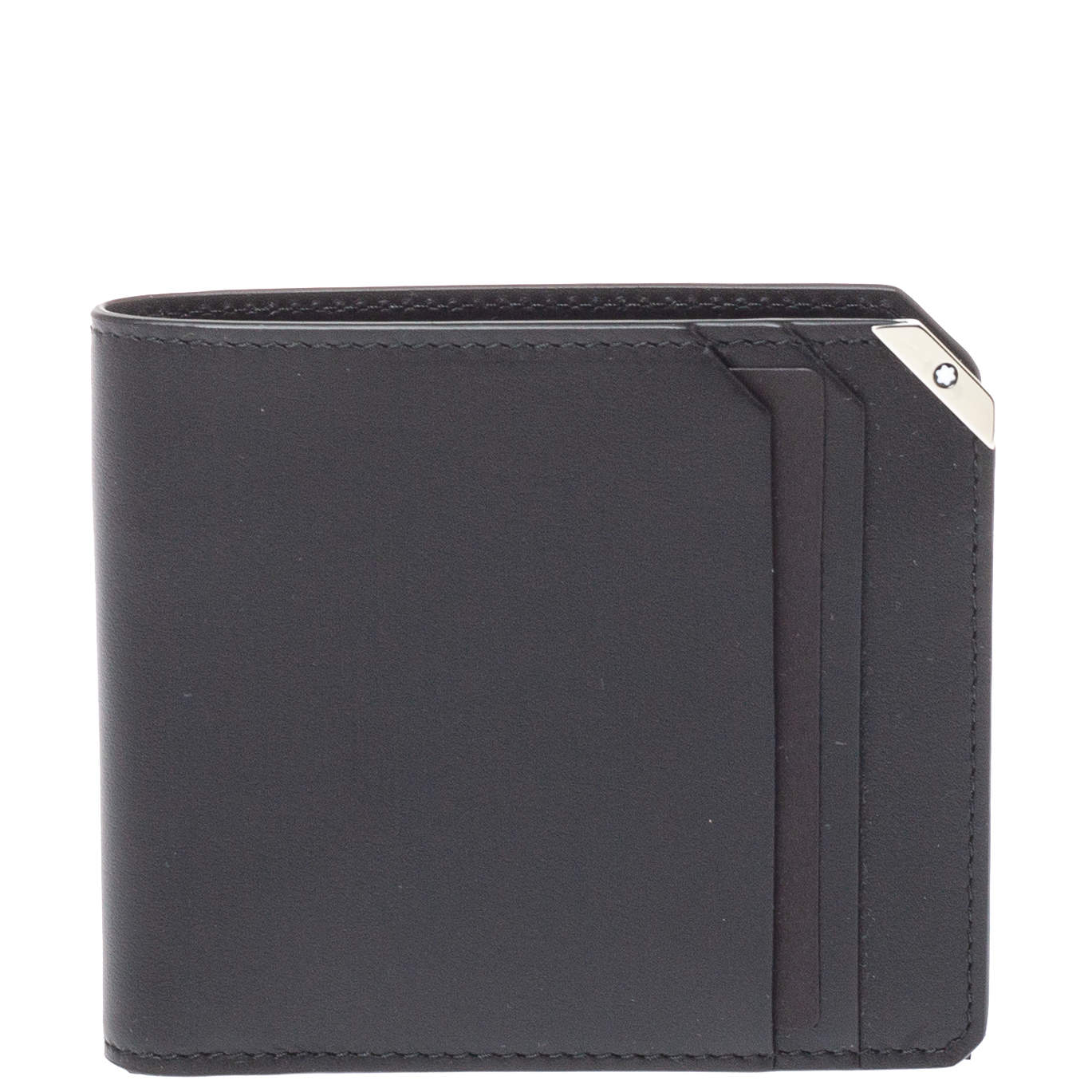 Montblanc Black Leather Urban Spirit 6cc Wallet