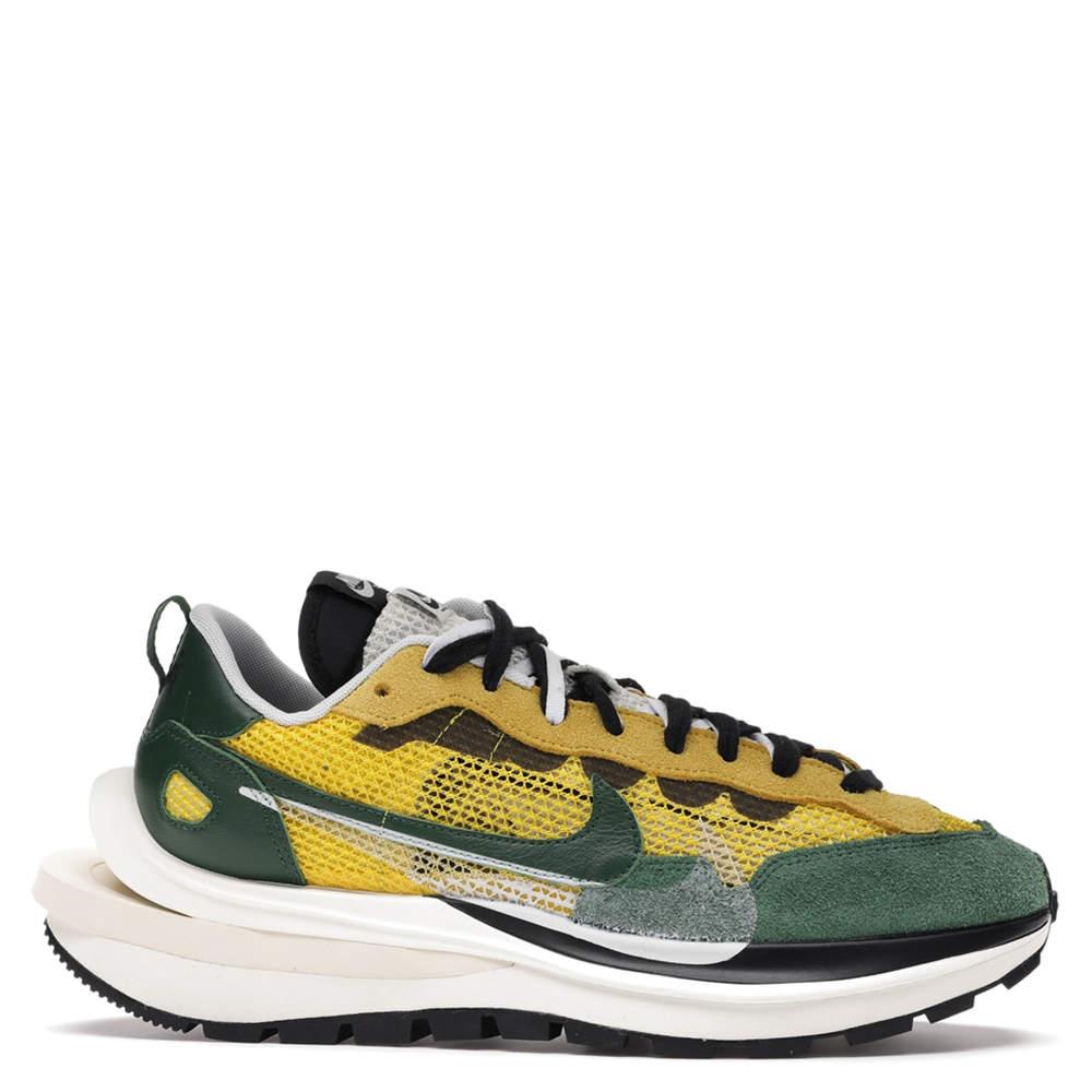 Nike Sacai Vaporwaffle Yellow Green EU 38 US 5.5
