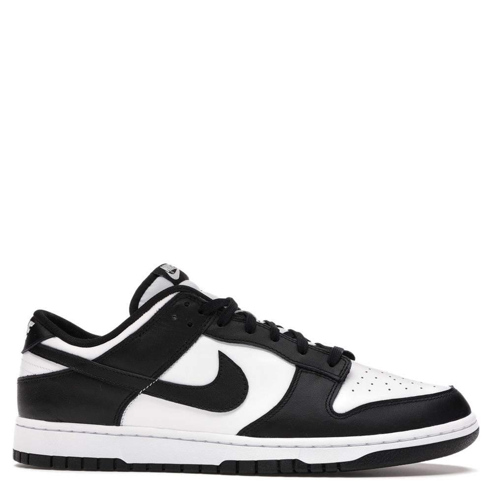 Nike Dunk Low White/Black Sneakers US 4.5Y EU 36.5