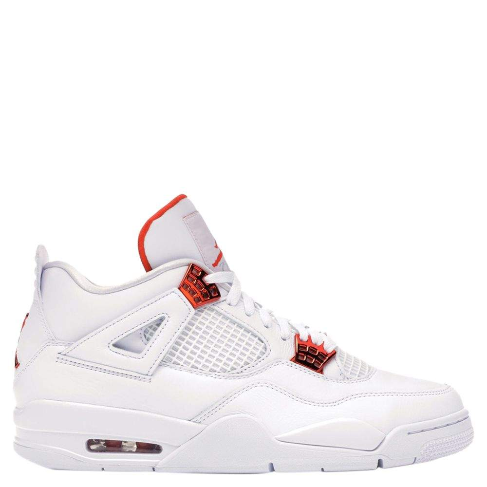 Nike Jordan 4 Metallic Orange Sneakers Size US Size 10(EU Size 44)
