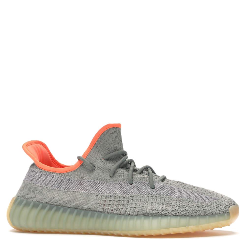 Adidas Yeezy 350 Desert Sage Sneakers Size 44