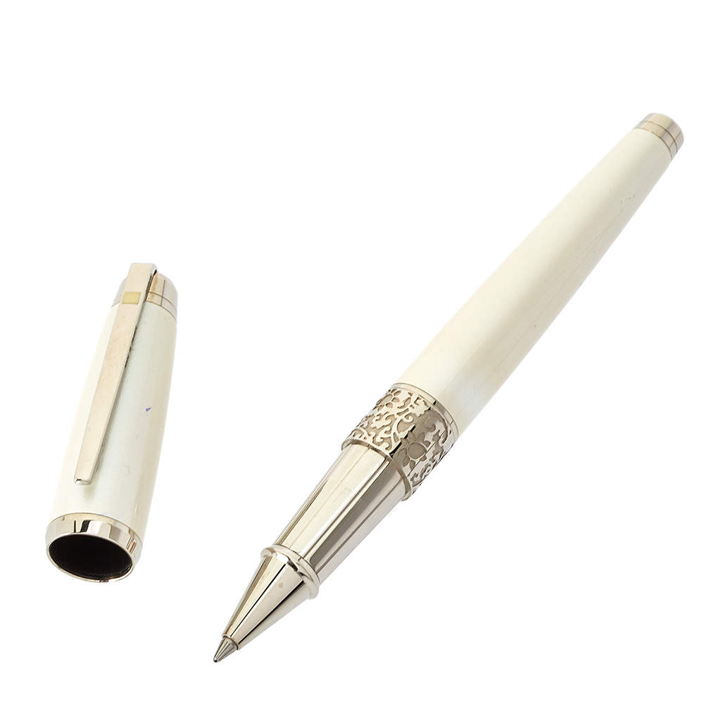 S.T Dupont Caprice Metallic Lacquer & Mother Of Pearl RollerBall Pen