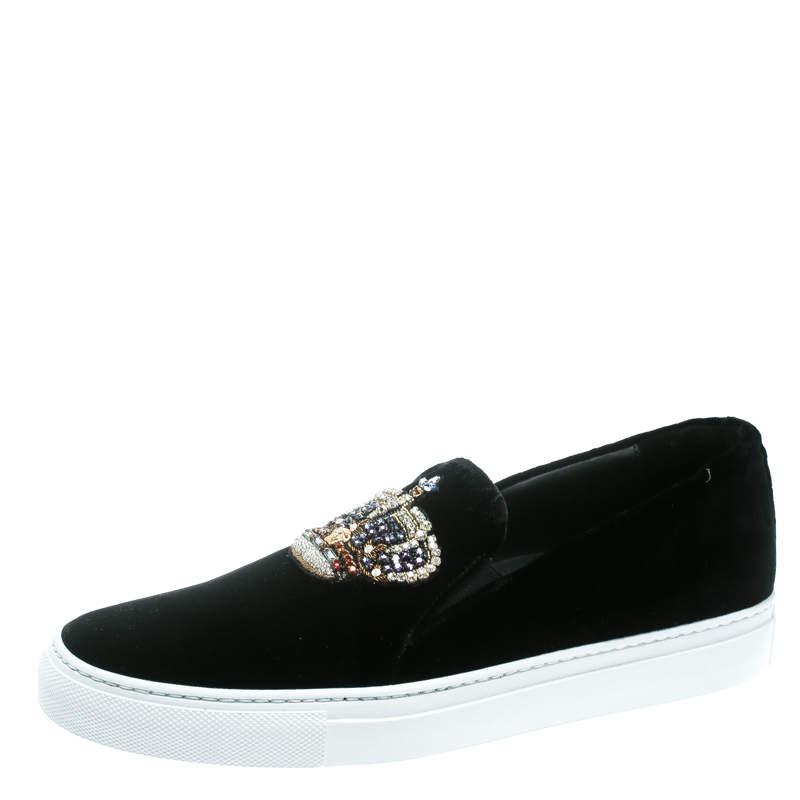 luxury crystal design sneakers