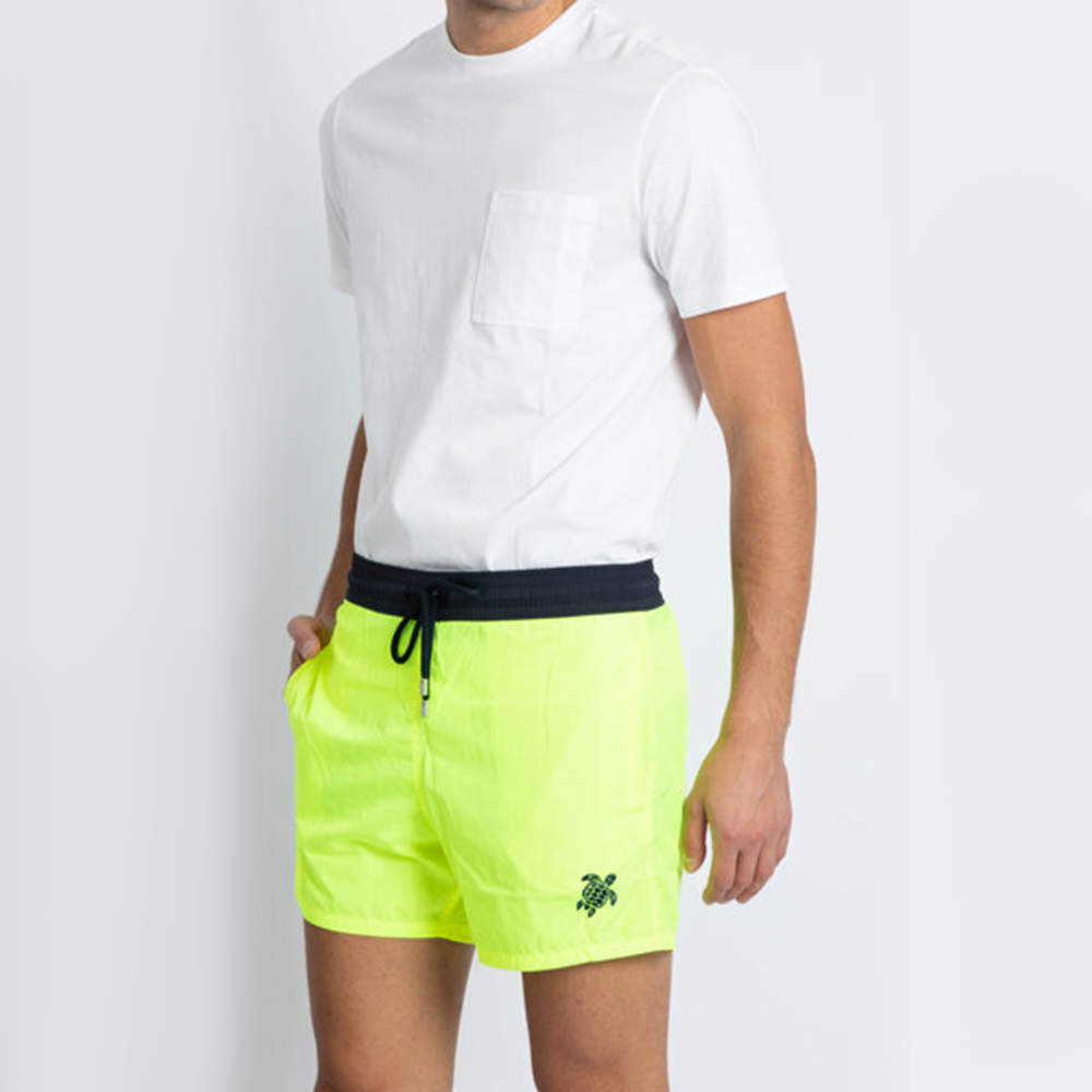 Vilebrequin Green Plain Swim Trunks L (Available for UAE Customers Only)
