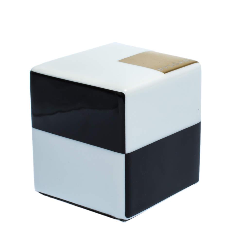 Bvlgari X Rosenthal Black & White Cube Paper Weight