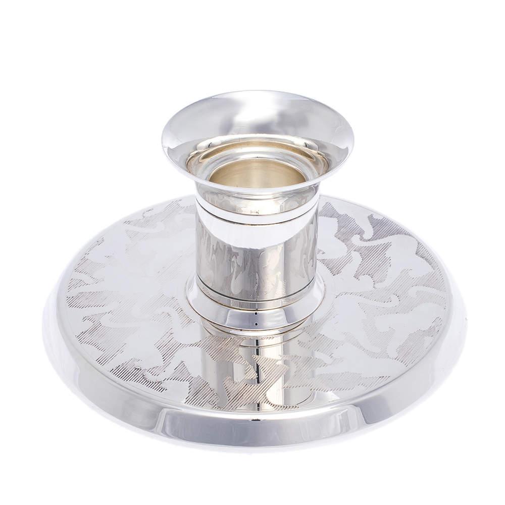 Cartier Silver 925 Decor Panthere Candlestick