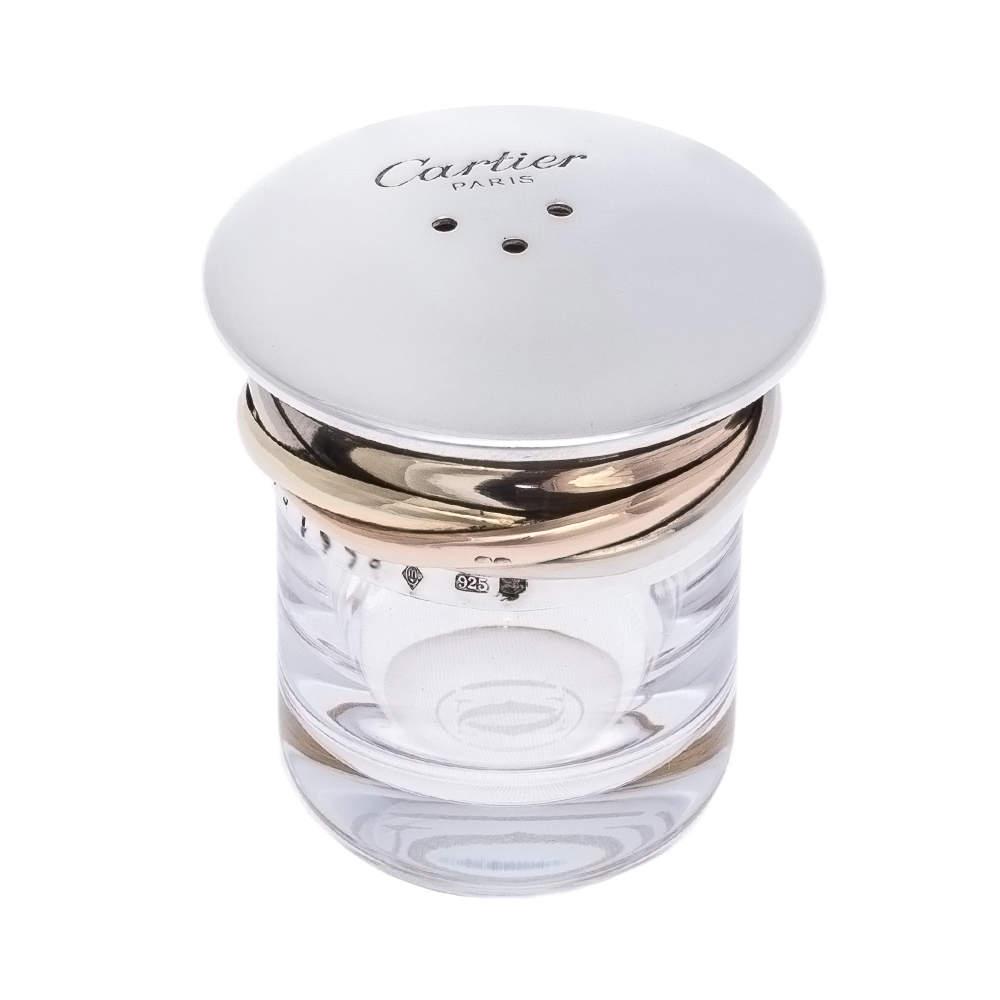 Cartier Silver 925 Salt and Pepper Shaker