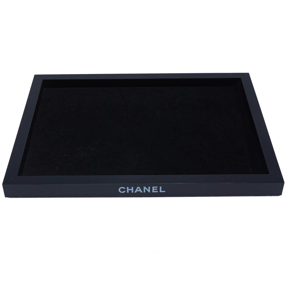 Chanel Black Jewelry Tray