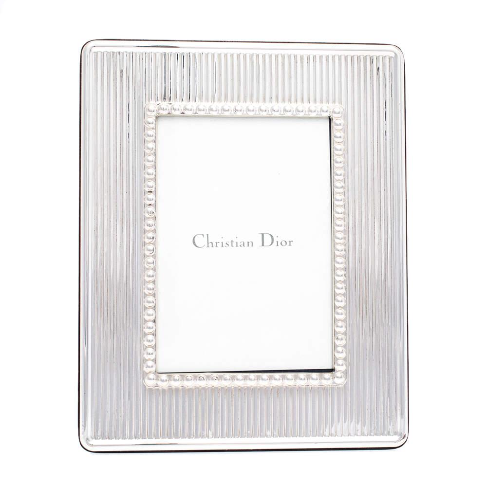 Dior Silver 925/Tarnish Proof Coating Photo Frame