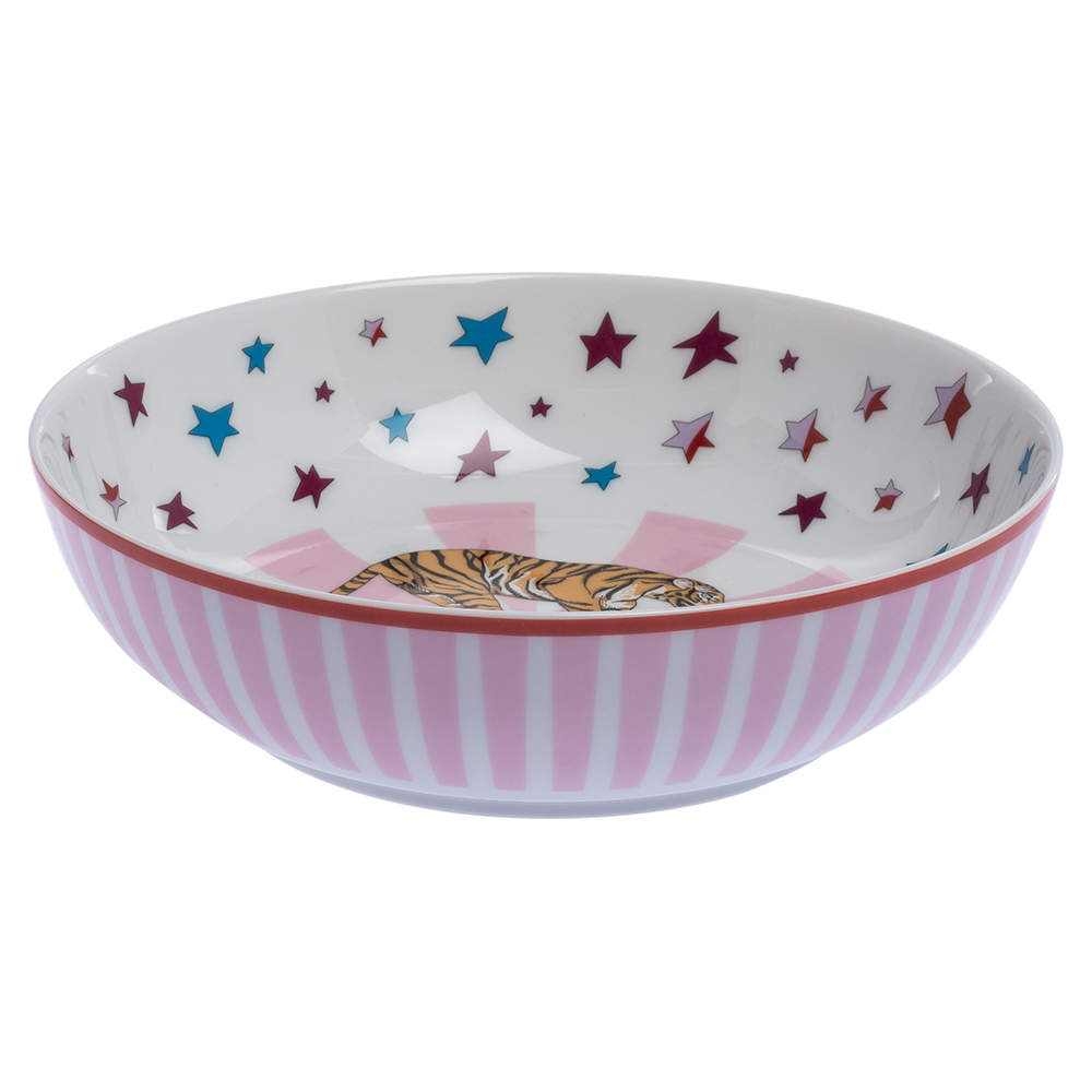 Hermes Multicolor Circus Cereal Bowl