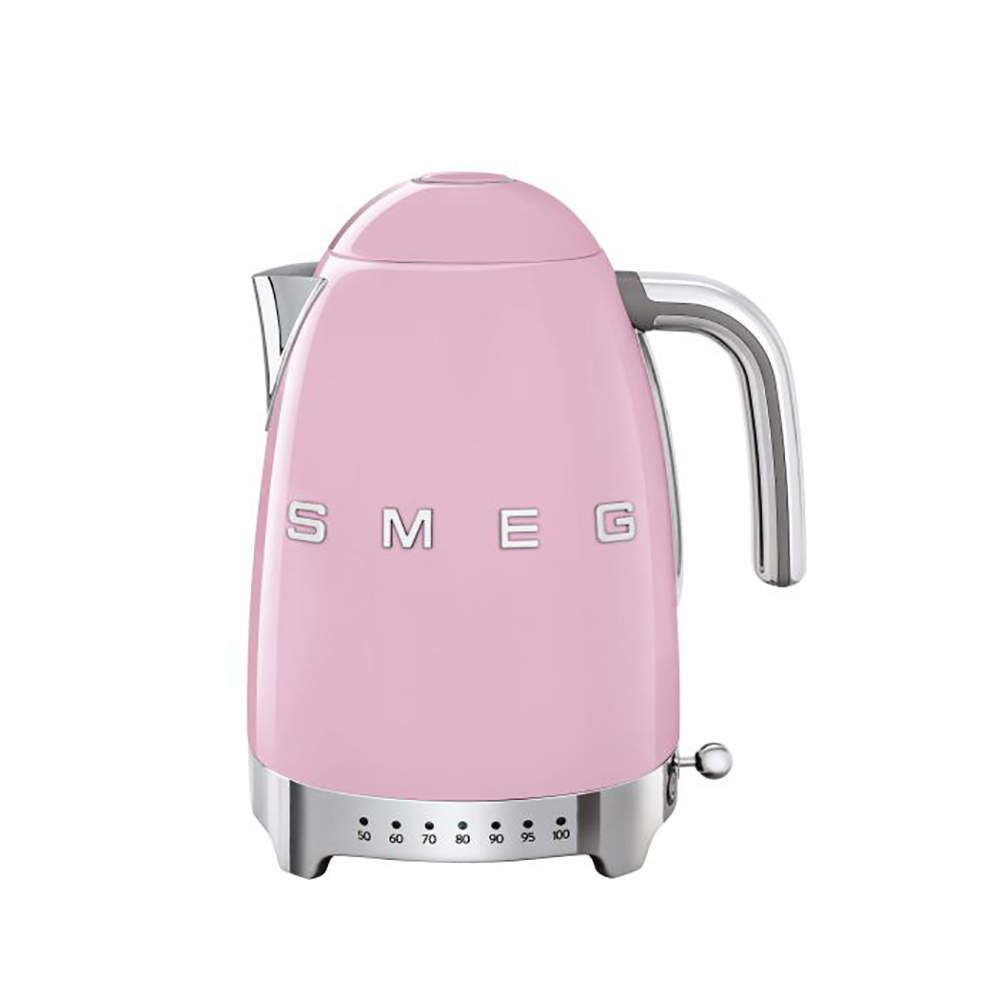 Smeg 50's Retro Style Kettle,1.7 Liter, Pink (Available for UAE Customers Only)