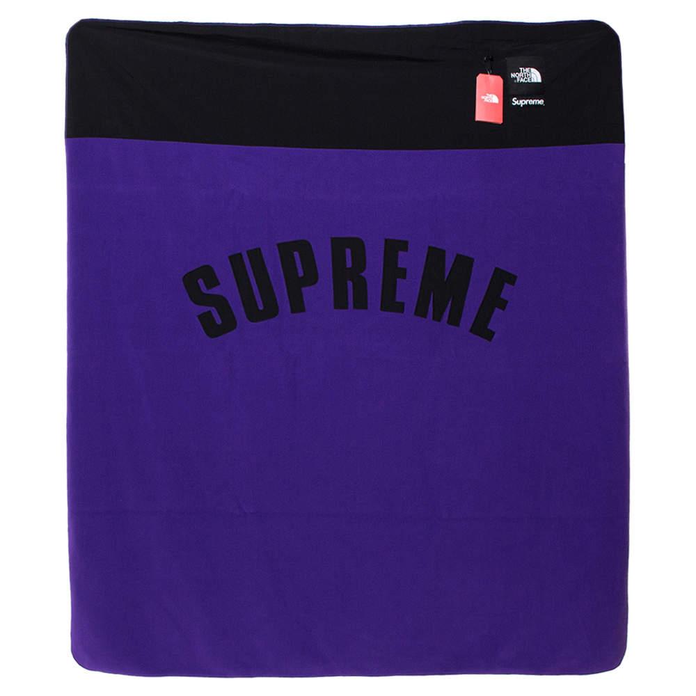 Supreme X The North Face Purple Arc Denali Fleece Blanket