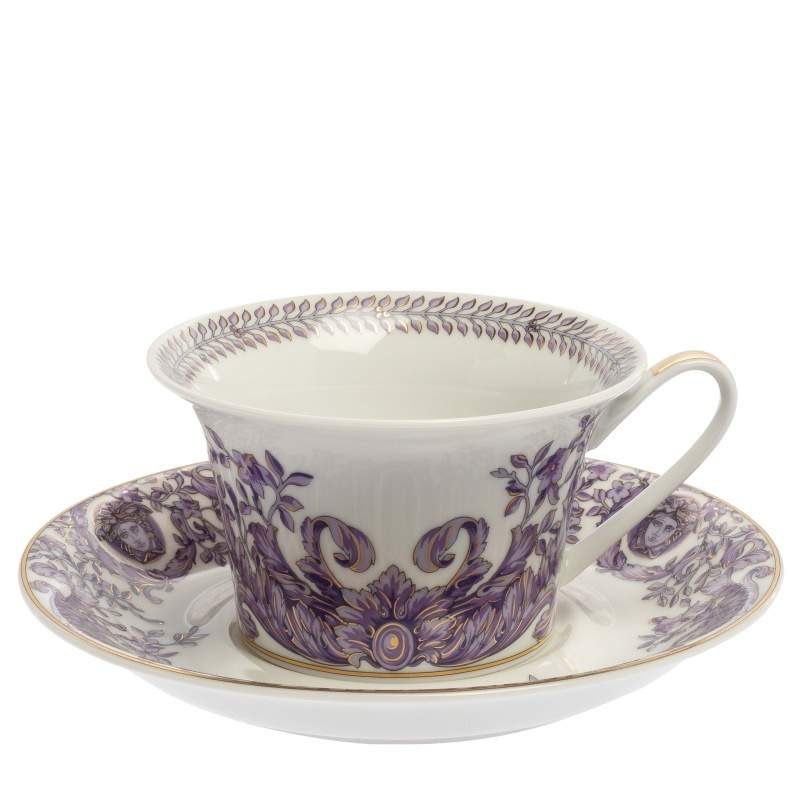 Versace X Rosenthal Le Grand Divertissement Cup & Saucer Set