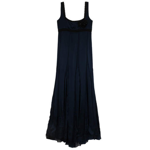 Alberta Ferretti Flare Maxi Dress L