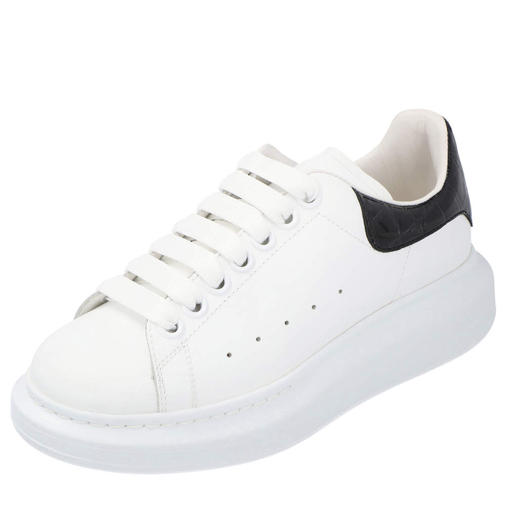 MCQ White Oversized Sneakers Size 35