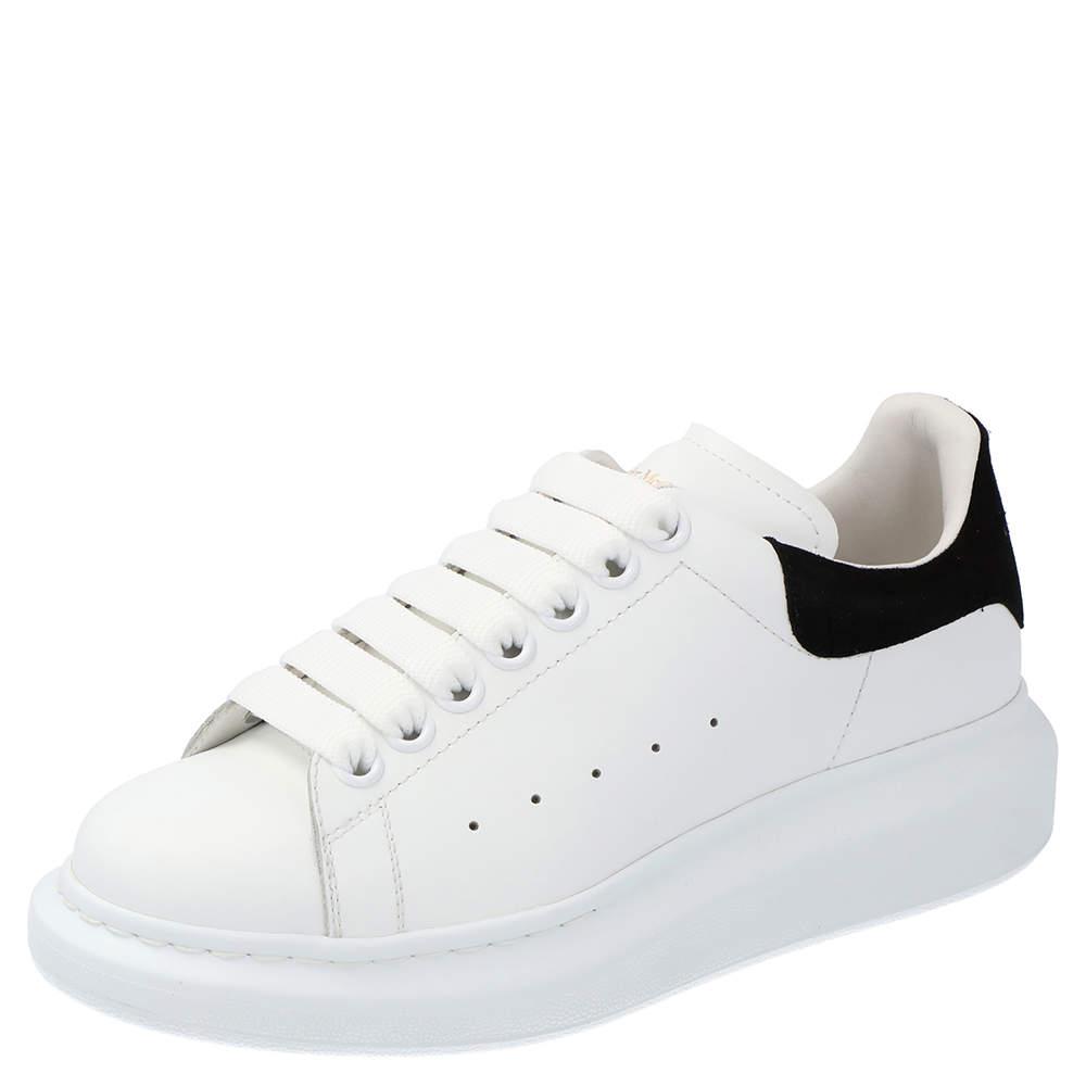 Alexander McQueen White Oversized Runner Sneakers Size EU 36.5