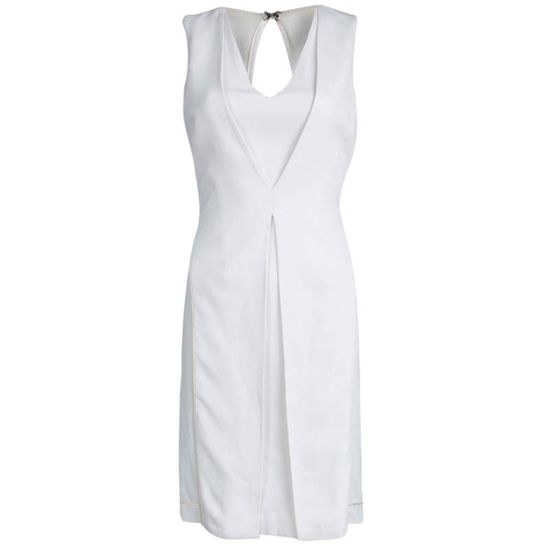 Alexander Wang Off White Knit Sleeveless Dress XS