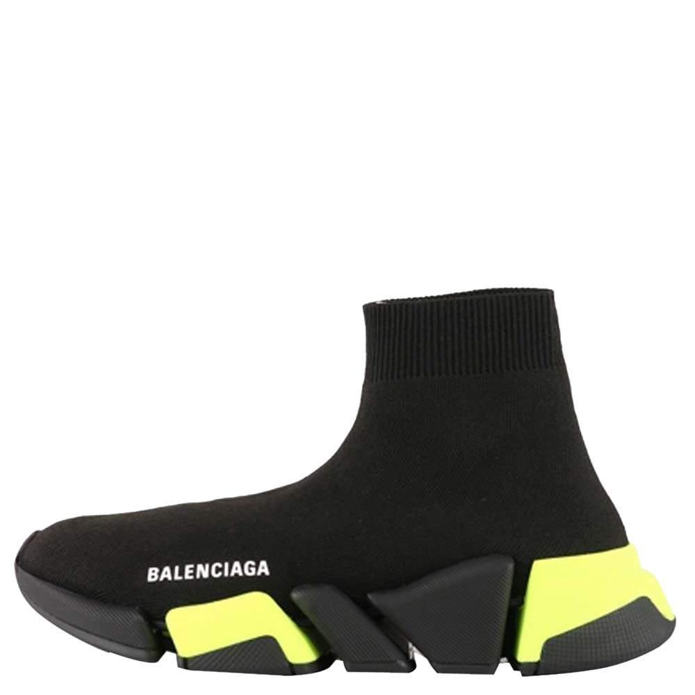 Balenciaga Black Speed 2.0 Sneakers Size EU 39