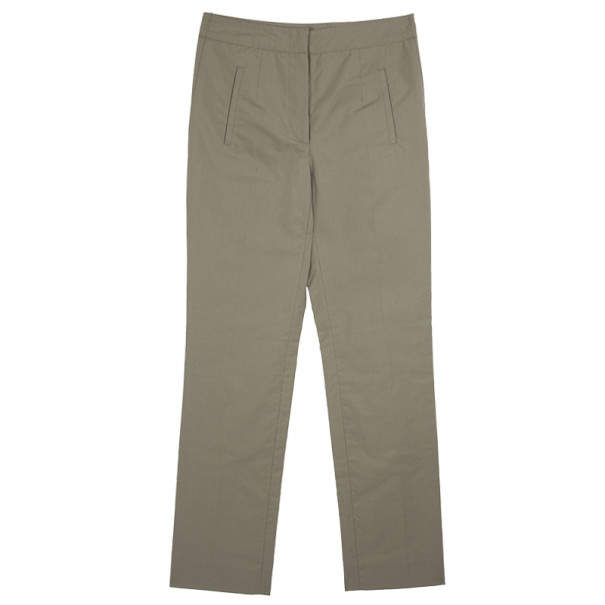 Balenciaga Khaki Cotton Pants XS