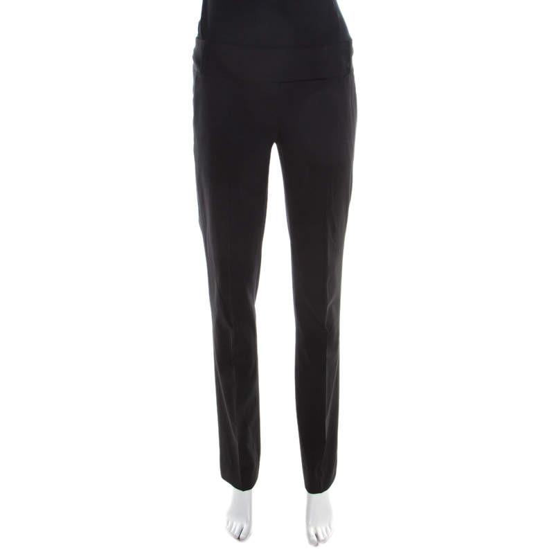 Boss By Hugo Boss Black Straight Fit Tailored Trousers M