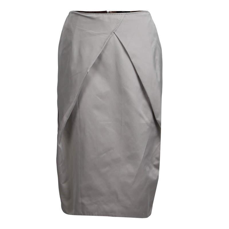 Boss by Hugo Boss Grey Straight Fit Skirt S