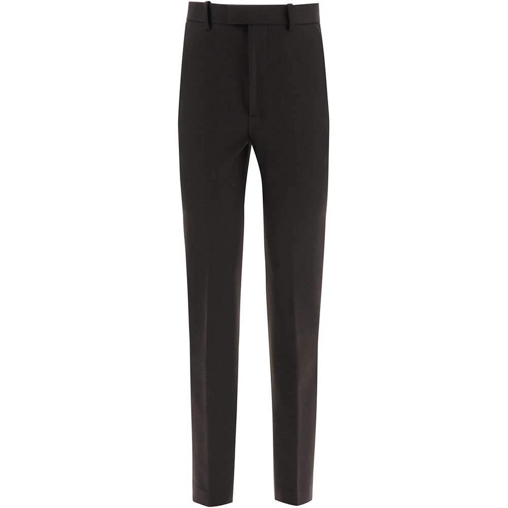 Bottega Veneta Black High Waisted Trousers Size IT 38