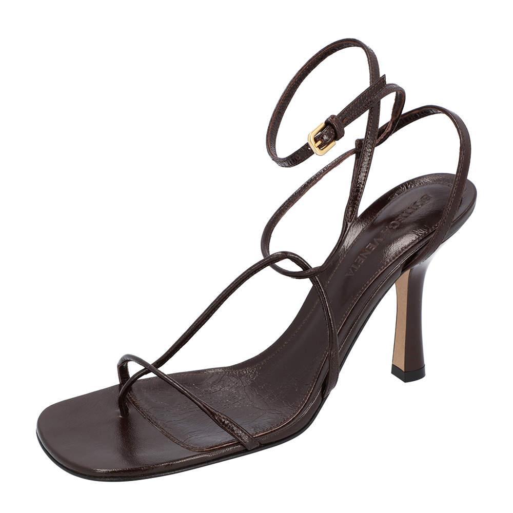 Bottega Veneta BV Black Line High Sandals Size 36