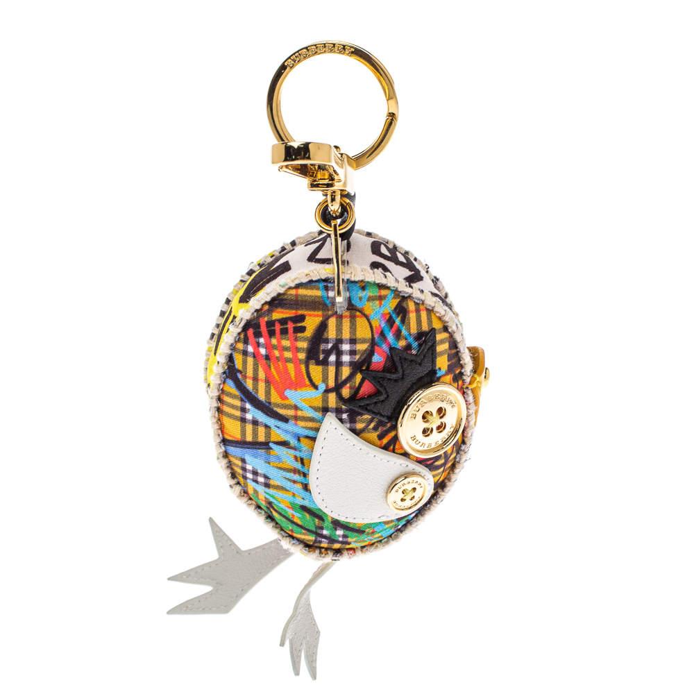 Burberry Multicolor Derek The Bird Key Charm