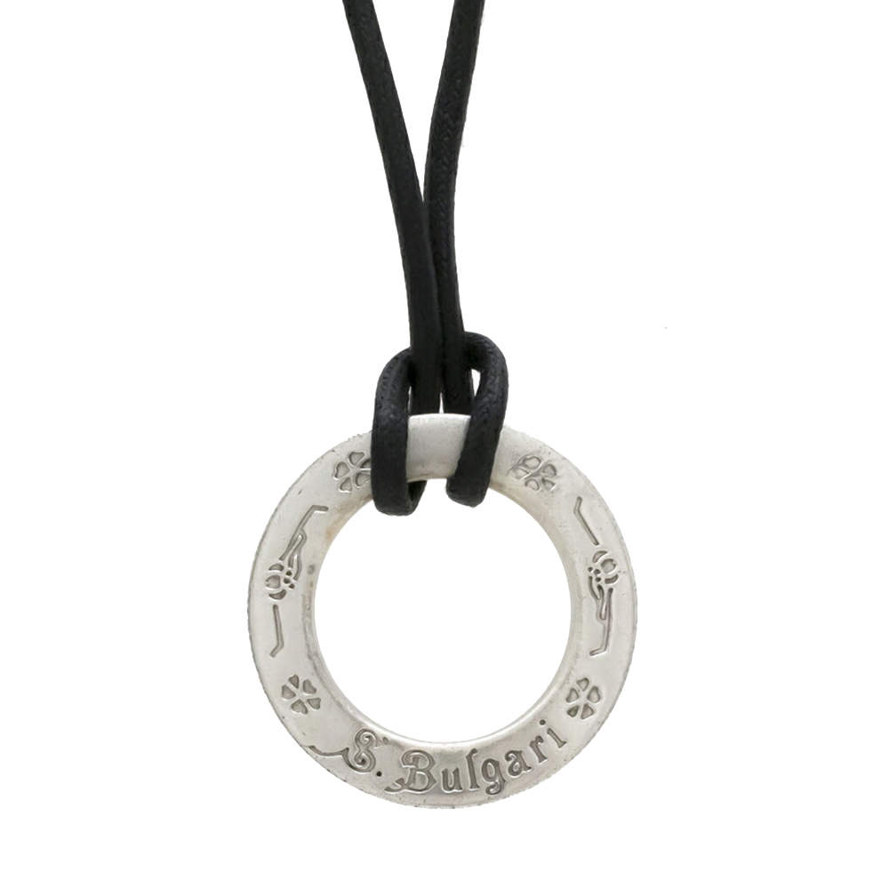 Bvlgari Sterling Silver Save The Children Choker Necklace