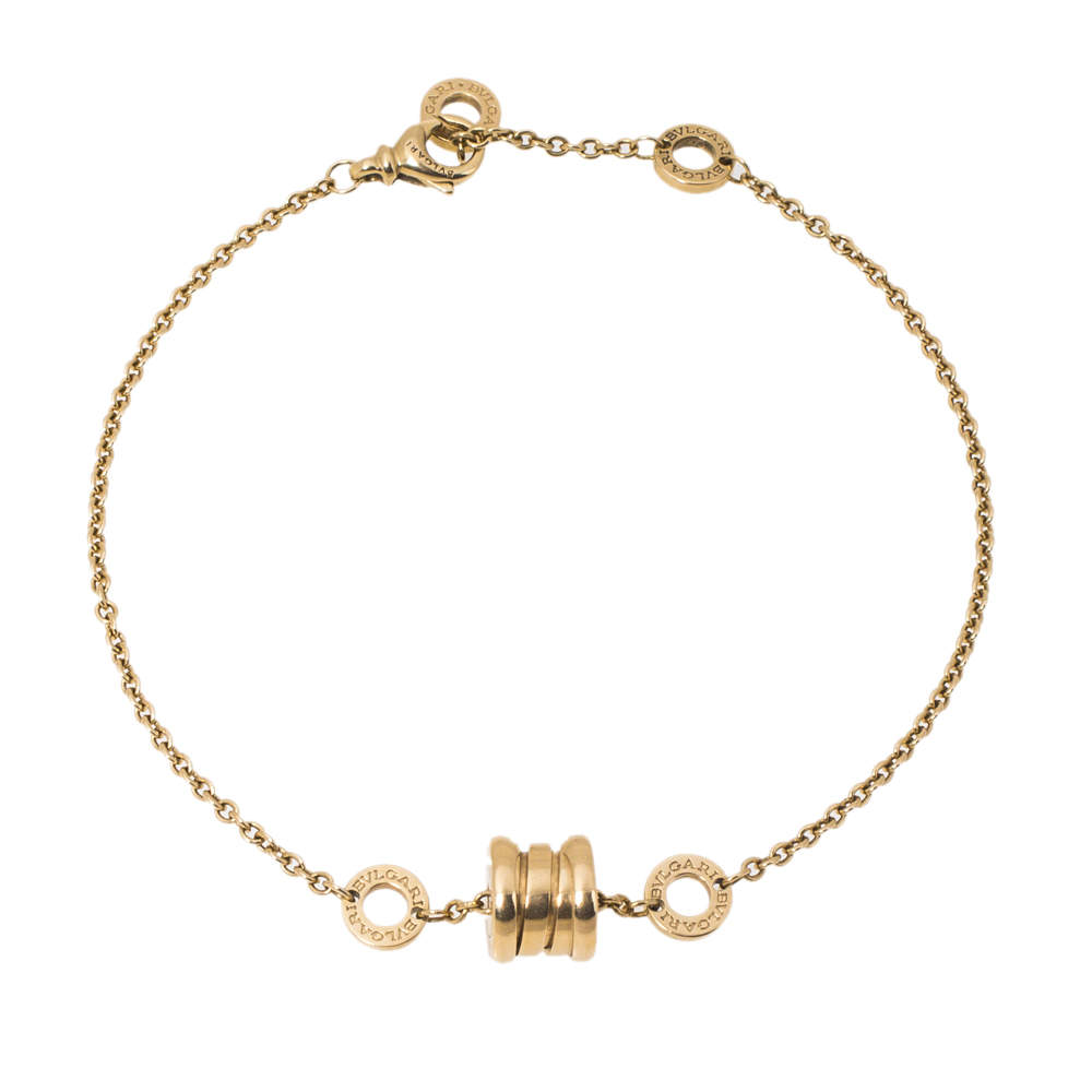 Bvlgari B.Zero1 Soft 18K Yellow Gold Bracelet