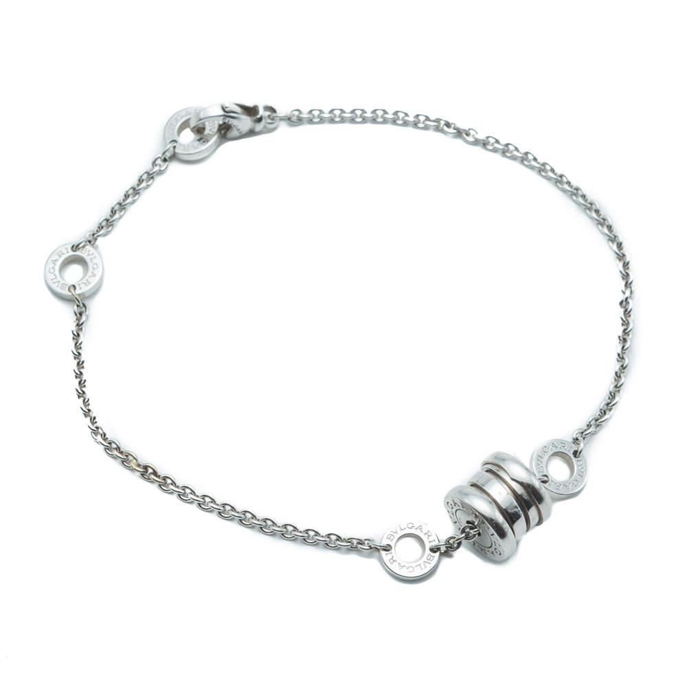 Bvlgari B.Zero1 White Gold Bracelet 18 CM