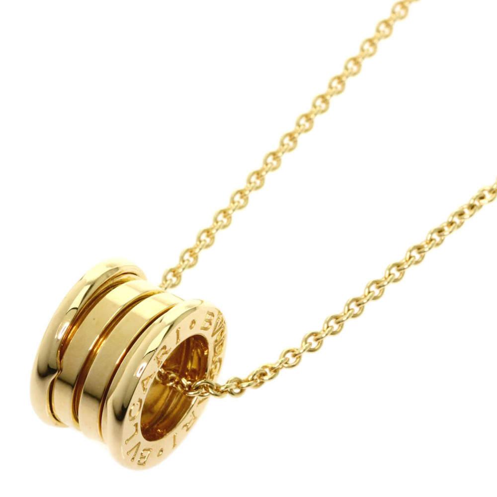 Bvlgari 18K Yellow Gold B.zero1 Necklace