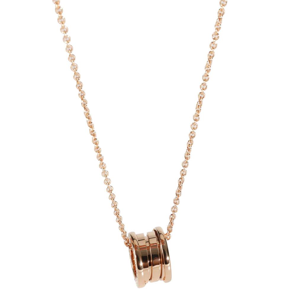 Bvlgari Bvlgari Bvlgari B.zero1 18K Rose Gold Necklace