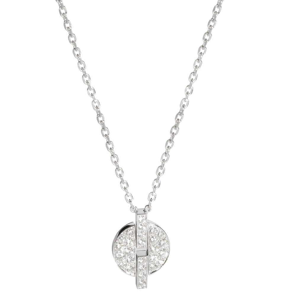 Cartier Himalia Diamond 18K White Gold Necklace